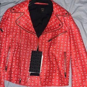 MCM Leather Rider Jacket